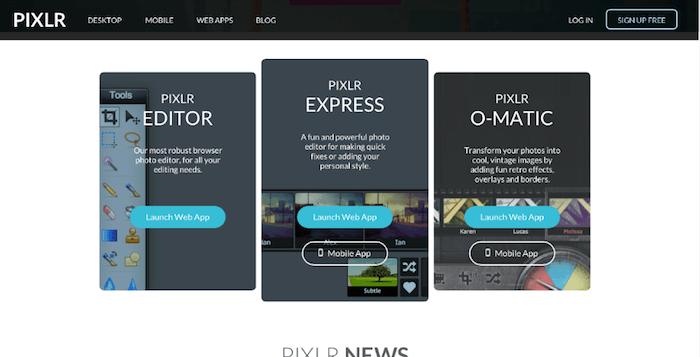PIXLR.EDITOR,EXPRESS,O-MATIC