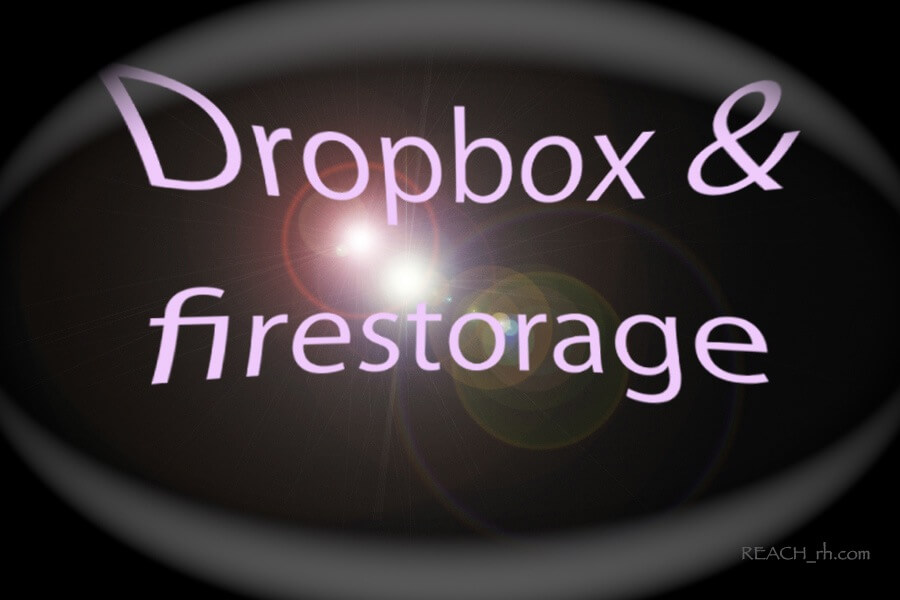 Dropbox&firestorage 2
