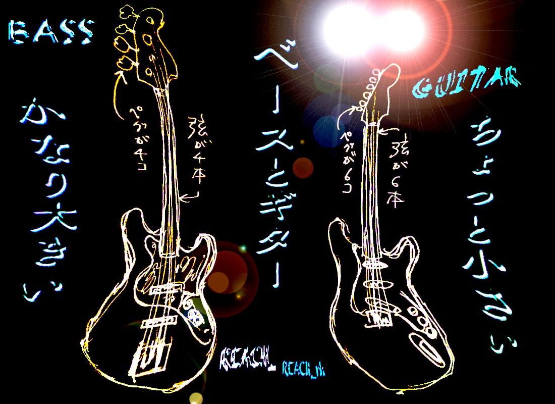 ベースとギター2