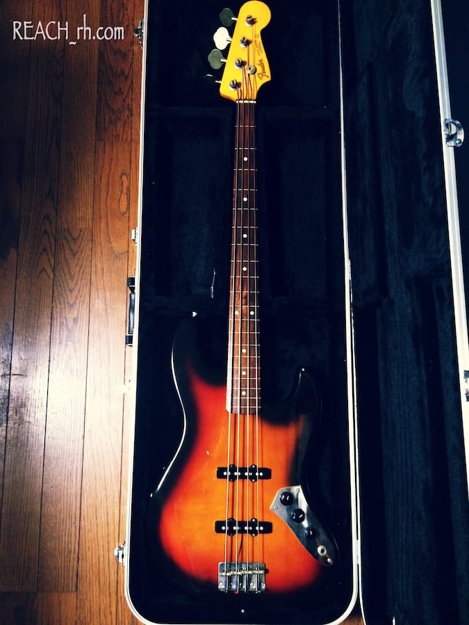 Fender Jazz Bass FL 全容