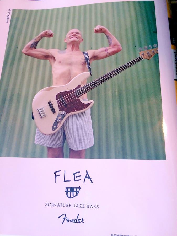 Bassマガジン Flea