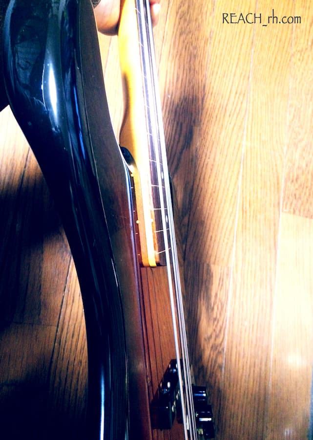 Fender Jazz Bass FL ボディサイド