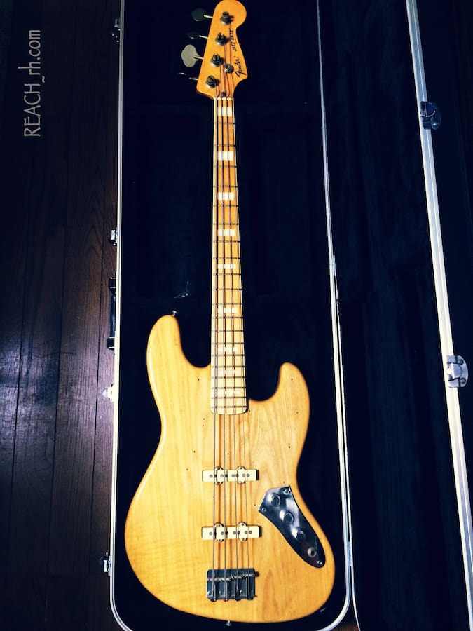 Fender Jazz Bass white ash 全容
