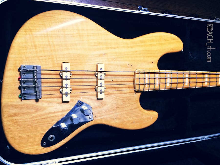 Fender Jazz Bass white ash ボディ