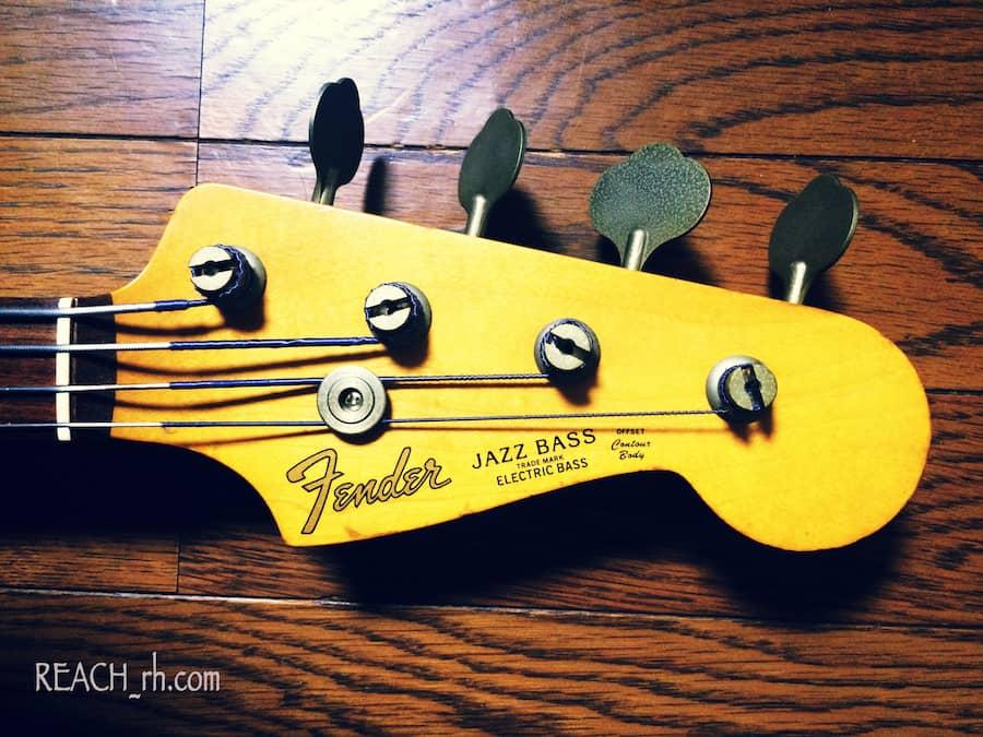 Fender Jazz Bass FL ヘッド