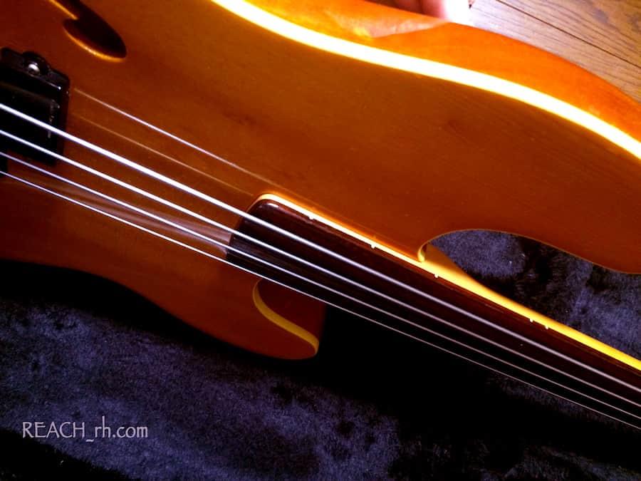 Fender PBAC-100FL ボディサイド