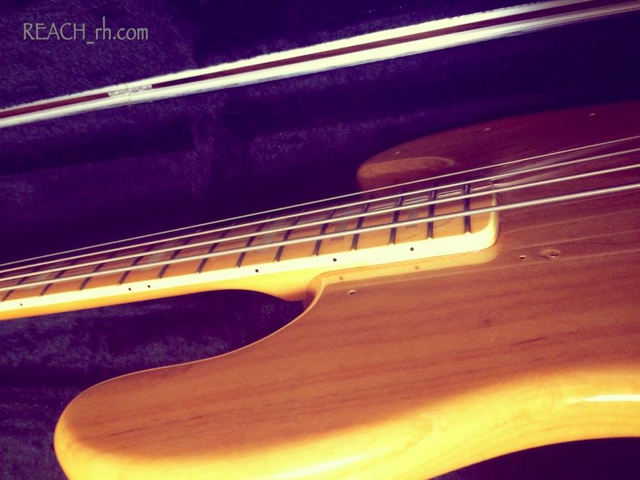 Fender Jazz Bass white ash ネックとボディ