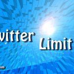 Twitterの制限、規制、リミットなどについて調べてみた