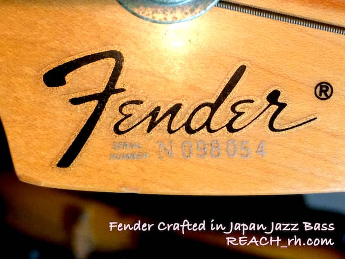 Fender Crafted in Japan Jazz Bass