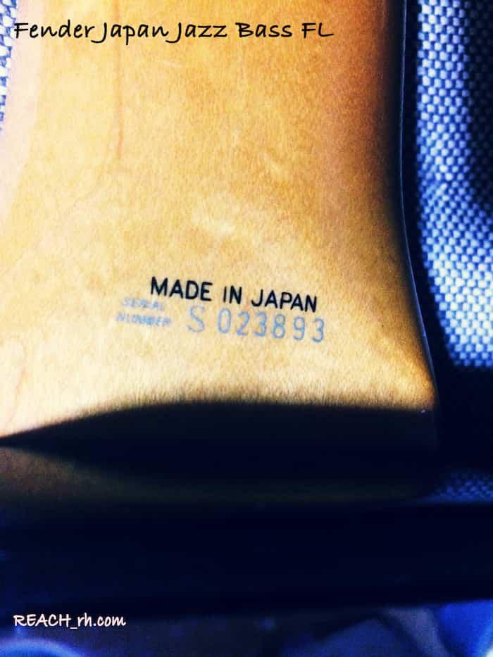 Fender Japan Jazz Bass FL