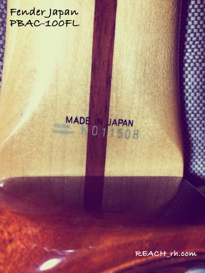Fender Japan PBAC-100FL