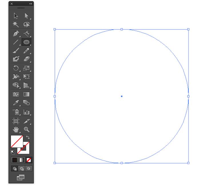 円のパスを描く