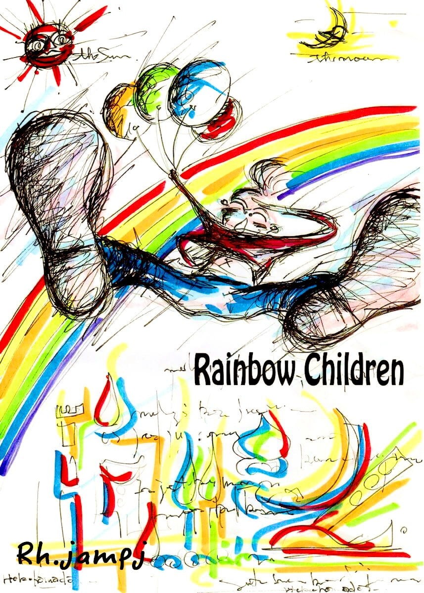 Rainbow-children