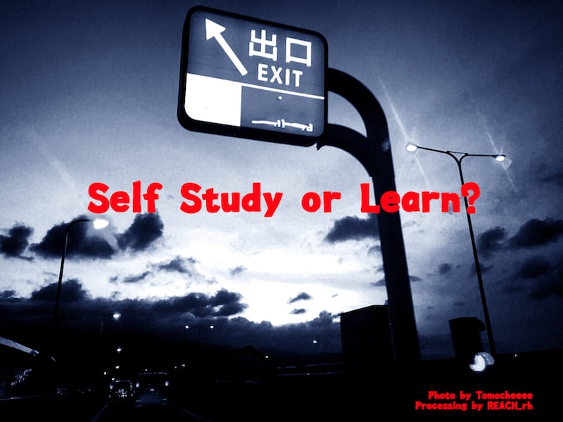 Self Study or Learn?