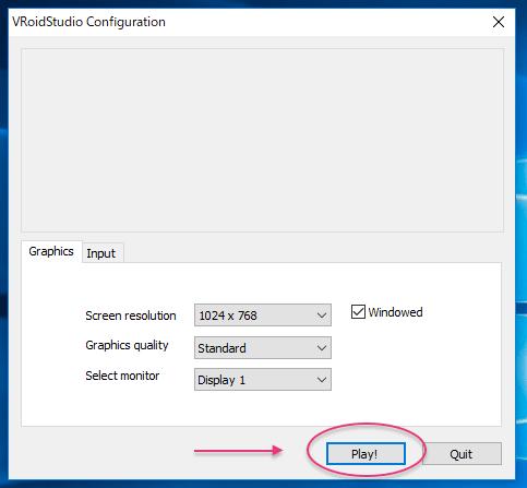 VRoid Studio Configurration