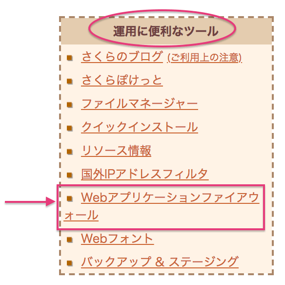 Webアプリケーションファイアウォール